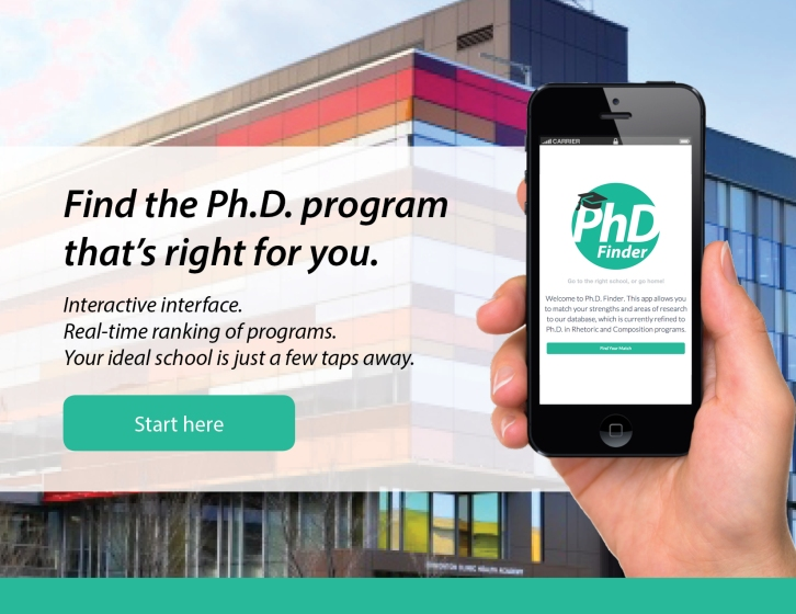 PhD Finder promo